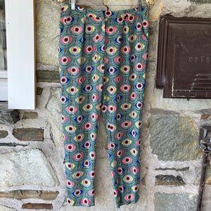 Mara Hoffman Evil Eye Pants, Sz 8